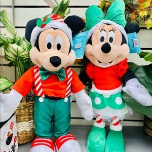 """ickey and minnouse mouse door greeter 22"""" tall"""